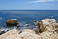Roques i la mar, passeig ecològic de Calp.JPG