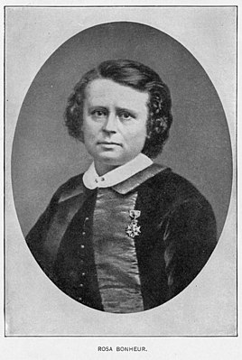 Rosa Bonheur, 1865, wearing the Legion of Honour..jpg
