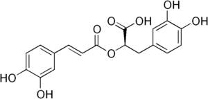structure of rosmarinic acid
