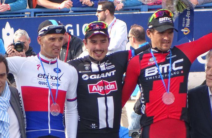 Roubaix - Paris-Roubaix, 12 avril 2015, arrivée (B40).JPG