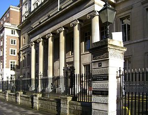 Vandervell v IRC - Image: Royal College of Surgeons of England 1