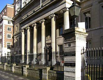 Vandervell v IRC - Image: Royal College of Surgeons of England 1