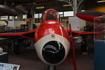 Royal Military Museum, Brussels - Hawker Hunter F.4 (11448800646).jpg