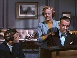 Peter Lawford Jane Powell And Fred Astaire In Royal Wedding