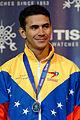 Ruben Limardo podium 2013 Fencing WCH EMS-IN t213623.jpg