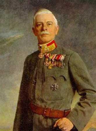 Generaloberst - Rudolf Stöger-Steiner von Steinstätten here as Generaloberst