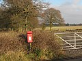 Rural post box on Hatham Green Lane - geograph.org.uk - 1092099.jpg