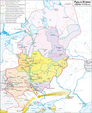 Principality of Turov - Image: Rus 1015 1113