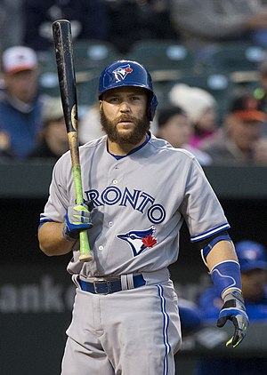 Russell Martin - Martin with the Toronto Blue Jays in 2015