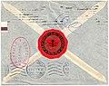 Russia - Latvia 1914 censored cover mute cancel reverse.jpg