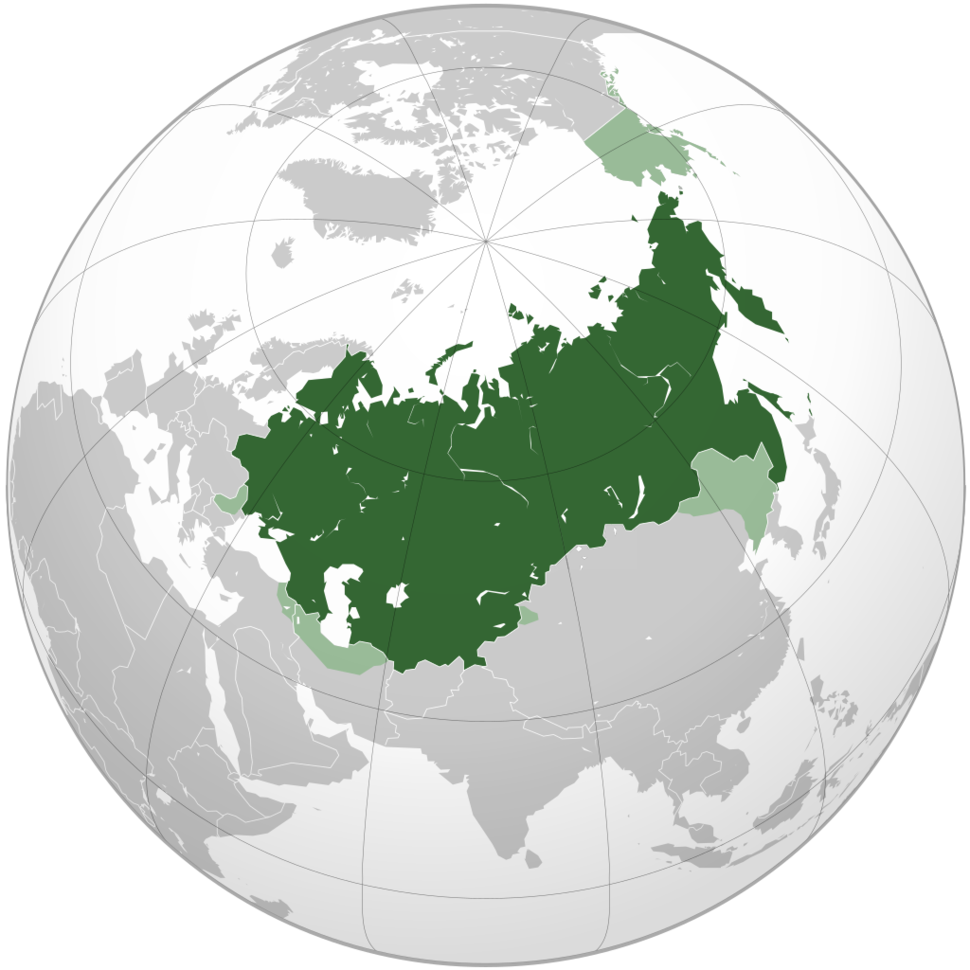 All areas that at one time were territory of the Russian Empire.[a]