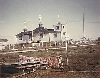 Kasigluk, Alaska - Holy Trinity Russian Orthodox Church