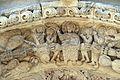 Ruvo di puglia, duomo, facciata, portali, centrale, apostoli 03 cristo, vergine il battista.jpg