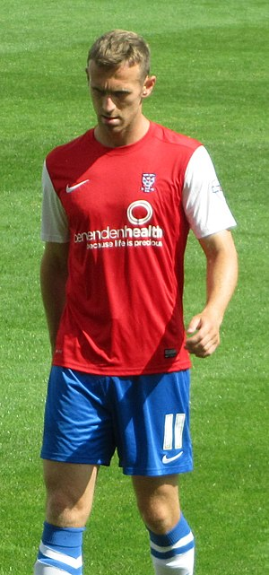 Ryan Jarvis - Jarvis playing for York City in 2013