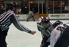 S.C. Stingrays vs. Florida Everblades - face-off.JPG