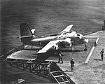 S2F-3 Tracker of VS-26 on USS Randolph (CVS-15) in 1962.jpg