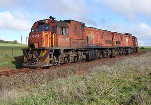 1972 in South Africa - Class 35-000 (GE U15C)