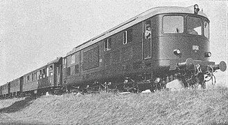 Gas turbine locomotive - 1942 publicity photo of Am 4/6 number 1101