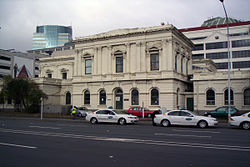 The historic former High Court building, future home of the Supreme Court of New Zealand.