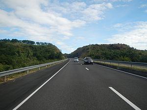 Subic–Clark–Tarlac Expressway - A portion of SCTEX in Bataan