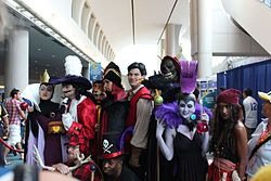 SDCC 2012 - Disney villains (7560495094).jpg