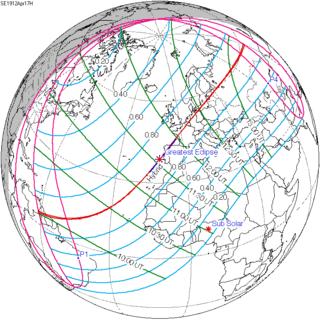 Solar eclipse of April 17, 1912 solar eclipse
