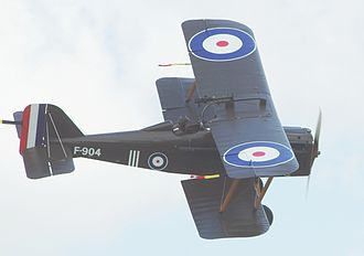 Royal Aircraft Factory S.E.5 - S.E.5a number F904, Old Warden Aerodrome, Bedfordshire, England (2009)