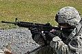 SGT Collins at the range (7690070532).jpg