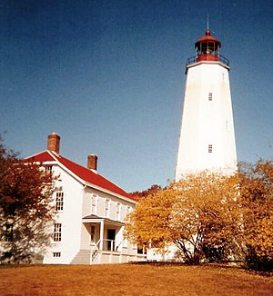 Sandy Hook Light - Image: SH Light crop