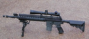 Mk 12 Special Purpose Rifle - An SPR