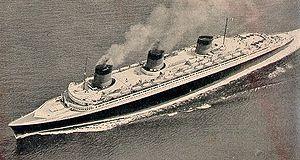 Passenger ship -  An ocean liner, Normandie
