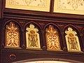 Sacred Heart Cathedral wall detail - Davenport, Iowa.JPG