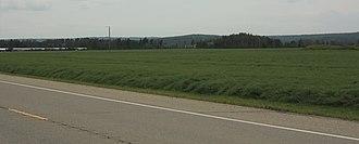 Saddle Hills County - Image: Saddle Hills highway