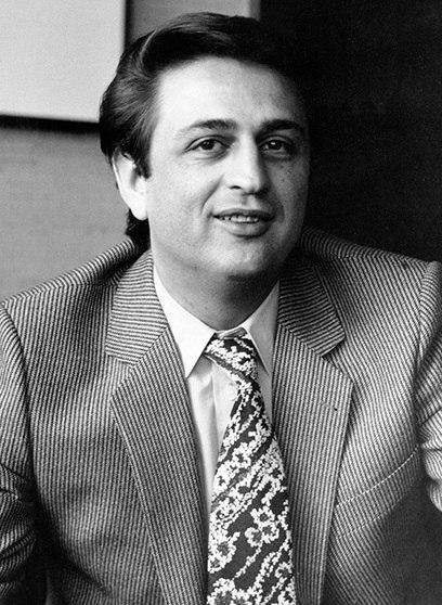 Sadeq Tabatabaei as Spokesman for the interim government of Iran - 1979 (2)