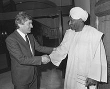 الان وفاة الصادق المهدي زعيم حزب الامة السوداني بالكورونا
