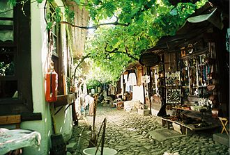 Safranbolu - A street at the historical market of shoemakers in Safranbolu