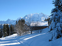 July 12: Mont Blanc.