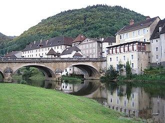 Saint-Hippolyte, Doubs - Image: Saint Hippolyte (Doubs) 0006