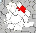 Saint-Hugues Quebec location diagram.PNG