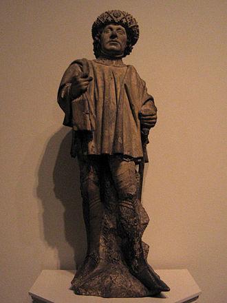 Bavo of Ghent - Image: Saint Bavo