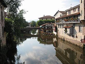 Nive - Nive in Saint-Jean-Pied-de-Port