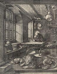Альбрехт Дюрер: Saint Jerome in His Study