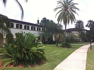 Saint Leo University - Saint Francis Hall on University's main campus in St. Leo, Florida
