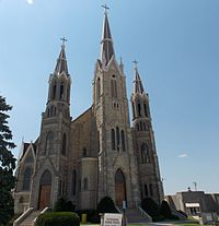 Saints Peter and Paul Church - Petersburg, Iowa 01 (cropped).jpg