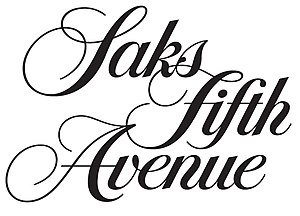 Saks Fifth Avenue - Image: Saks Fifth Avenue Logo