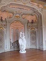 Villa Subaglio: sala delle rappresentazioni - Amore e Psiche