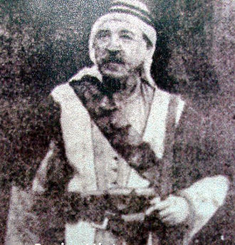 Alawite State - Salih al-Ali, leader of the 1919 Alawite Revolt against French rule