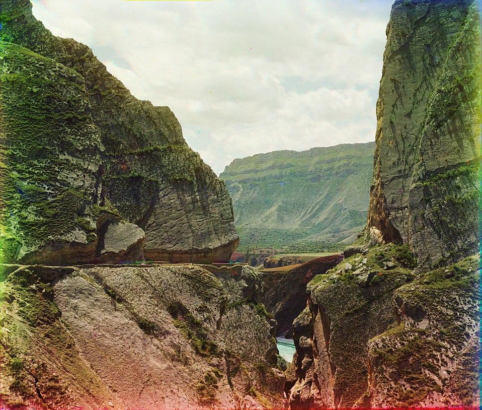 Saltinskoe gorge