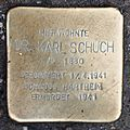 Salzburg - Lehen - Ignaz-Harrer-Straße 16 - Stolperstein Karl Schuch.jpg