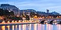 Samaritaine and Pont Neuf, Paris October 25, 2013.jpg